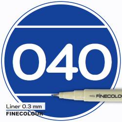 Линер FINECOLOUR Liner 037 Насыщенный фиолетовый