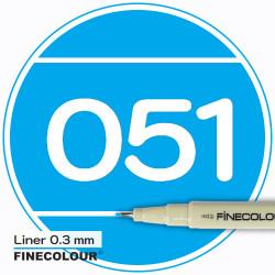 Линер FINECOLOUR Liner 049 Голубоватый оттенок