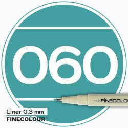 Линер FINECOLOUR Liner 056 Мраморный зеленый