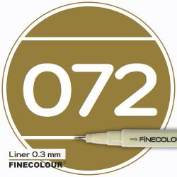 Линер FINECOLOUR Liner 070 Глубокий оливкоовый оттенок