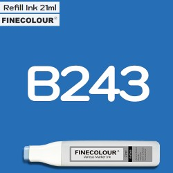 Заправка Finecolor Ink B243 Ультрамарин, 21 мл
