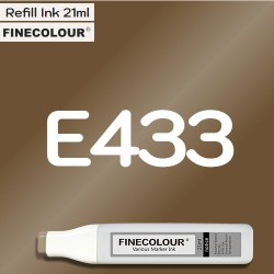 Заправка Finecolor Ink E433 Орех-пекан, 21 мл
