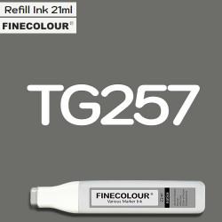 Заправка Finecolor Ink TG257 Серый тонер №8, 21 мл