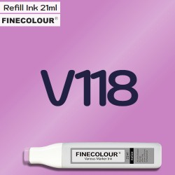 Заправка Finecolor Ink V118 Лаванда, 21 мл