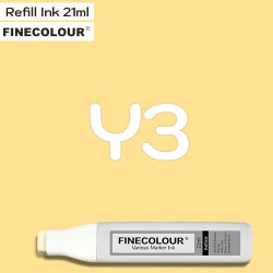 Заправка Finecolor Ink Y3 Желтый, 21 мл
