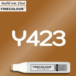 Заправка Finecolor Ink Y423 Цвет тика, 21 мл