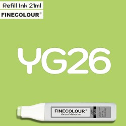 Заправка Finecolor Ink YG26 Шартрез, 21 мл