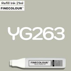 Заправка Finecolor Ink YG263 Желтовато-серый №5, 21 мл