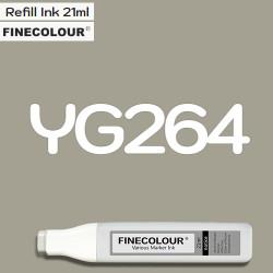 Заправка Finecolor Ink YG264 Желтовато-серый №6, 21 мл