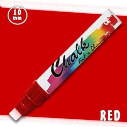 Маркер меловой Fat&Skinny Chalk 10 мм Красный (Red)