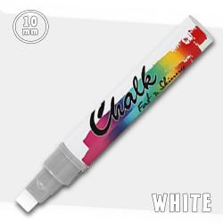 Маркер меловой Fat&Skinny Chalk 10 мм Белый (White)