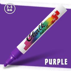 Маркер меловой Fat&Skinny Chalk 2-5 мм Фиолетовый (Purple)
