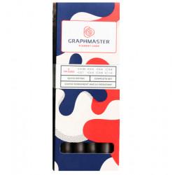 Набор линеров Graphmaster пигментных S/F/M 8шт