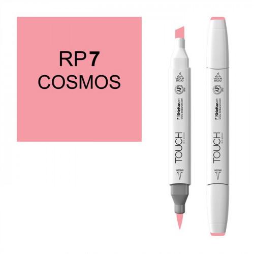 Маркер TOUCH BRUSH RP7 Розовый Космос (Cosmos) двухсторонний на спиртовой основе
