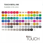 Заправки Touch Refill Ink, 20 мл