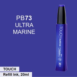 Заправка для маркеров Touch Refill Ink PB73 Ультрамарин (Ultramarine)