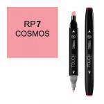 Маркер TOUCH Twin RP7 Розовый Космос (Cosmos) двухсторонний наспиртовой основе