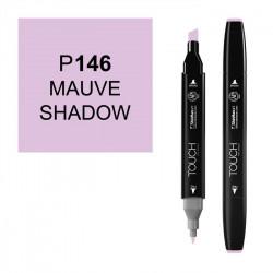 Маркер TOUCH Twin P146 Лиловый Сумеречный (Mauve Shadow) двухсторонний наспиртовой основе