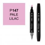 Маркер TOUCH Twin P147 Сиреневый Бледный (Pale Lilac) двухсторонний наспиртовой основе