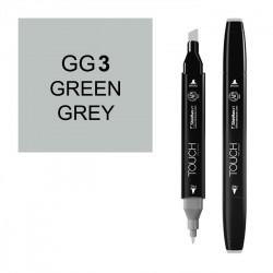 Маркер TOUCH Twin CG1 Серый Холодный 1 (Cool Grey 1) двухсторонний наспиртовой основе