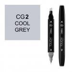 Маркер TOUCH Twin CG7 Серый Холодный 7 (Cool Grey 7) двухсторонний наспиртовой основе