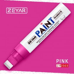 Маркер Zeyar Paint marker масляный Розовый (Pink), 15 мм