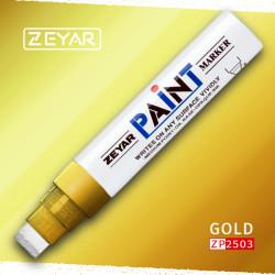 Маркер Zeyar Paint marker масляный Золото (Gold), 15 мм