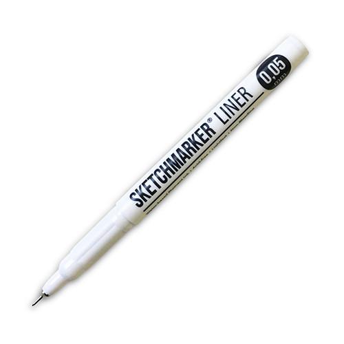 Ручка капиллярная (линер) Sketchmarker 0.05мм черный