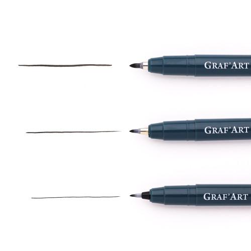 Капиллярная ручка Малевичъ GrafArt, пуля XS