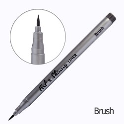Линер Fat&Skinny brush