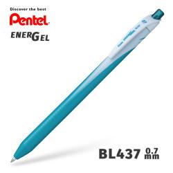 Гелевая ручка линер Pentel EnerGel Wave BL437-S3 Бирюзовый