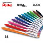 Гелевые ручки линеры Pentel EnerGel Wave BL437