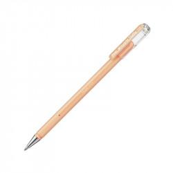 Гелевая ручка Hybrid Milky, пастельная оранжевая, 0.8 мм