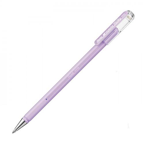Гелевая ручка Hybrid Milky, пастельная фиолетовая, 0.8 мм