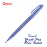 Фломастер-кисть Touch Brush Sign Pen Фиолетово-снинй