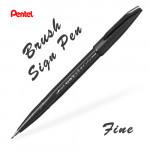 Линер-кисть Pentel Brush Sign Pen Fine