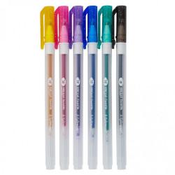 Гелевые ручки «Я-Художник!», в наборе 6 цветов с блестками