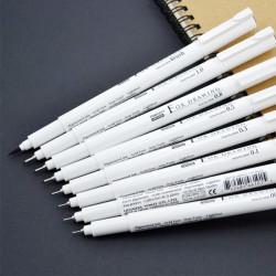 Линер, ручка для черчения и рисования Marvy, черная