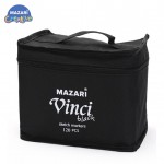 Набор маркеров для скетчинга VINCI black 120 цветов в сумке