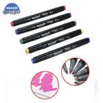 Набор маркеров для скетчинга VINCI black 80 цветов в сумке