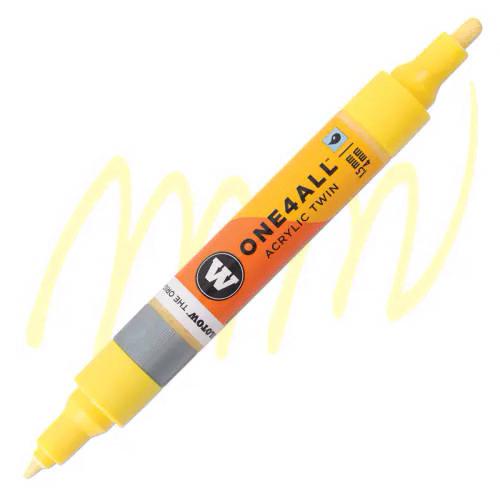 Маркер акриловый Molotow One4All 227HS-CO Twin (115) Ваниль (Vanilla pastel) 1,5-4 мм