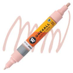 Маркер акриловый Molotow One4All 227HS-CO Twin (207) Телесный (Skin pastel) 1,5-4 мм