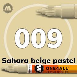 Маркер акриловый Molotow 009 Сахара (Sahara beige pastel) 1.5 мм