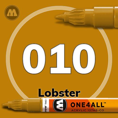 Маркер акриловый Molotow 010 Лобстер (Lobster) 1.5 мм