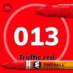Маркер акриловый Molotow 013 Красный (Traffic red) 1.5 мм