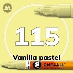 Маркер акриловый Molotow 115 Ваниль (Vanilla pastel) 1.5 мм