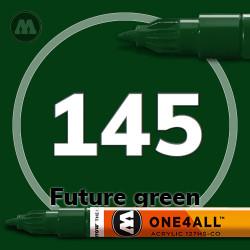 Маркер акриловый Molotow 145 Темно-зеленый (Future green) 1.5 мм