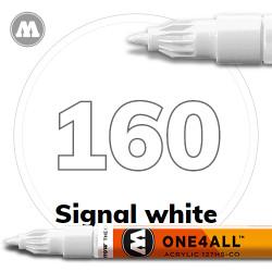 Маркер акриловый Molotow 160 Белый (Signal white) 1.5 мм
