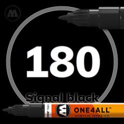 Маркер акриловый Molotow 180 Черный (Signal black) 1.5 мм