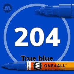 Маркер акриловый Molotow 204 Синий (True blue) 1.5 мм
